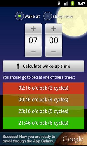 Wakeup Time