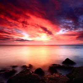 Between Two World by Amri Hms - Landscapes Sunsets & Sunrises