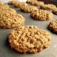 Spiced Oat and Banana Cookies