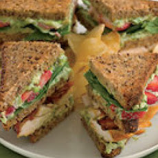 Triple-Decker Strawberry-Chicken Club Sandwiches