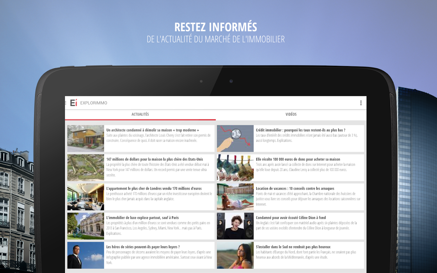 Explorimmo – Immobilier Screenshot 9