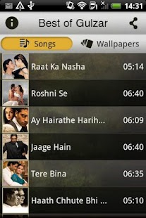 Best of Gulzar Songs - screenshot