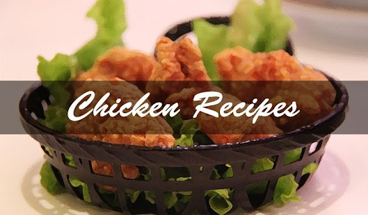Chicken Recipes - screenshot