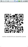 Screenshot of ICS Barcode Scanner