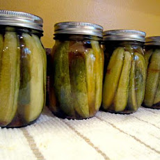 Stevia Sweet Pickles for Canning