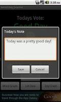 Screenshot of Good Day Journal