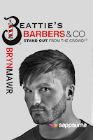 Screenshot of Beatties Barbers Brynmawr