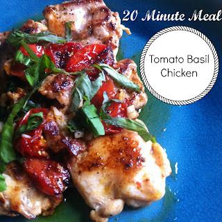 Tomato Basil Chicken Recipes