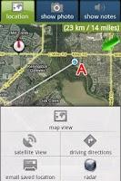 Screenshot of GPS ~ a2b ~ GPS