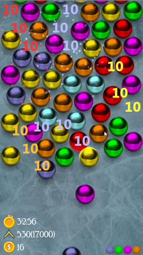Magnetic balls ads - screenshot