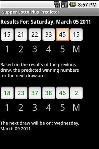 Super Lotto Predictor