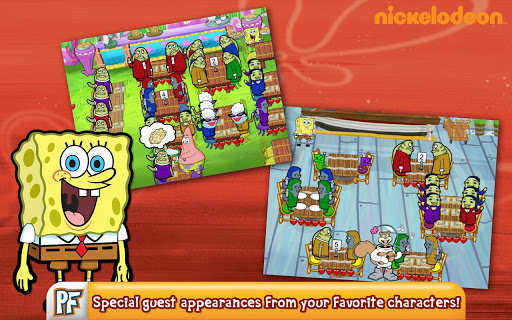 SpongeBob Diner Dash Deluxe - screenshot
