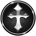 3D Cross Pendant Wallpaper