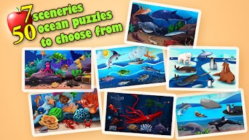 Screenshot of Kids Jigsaw Puzzles Ocean Free