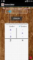 Screenshot of WattenZähler