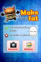 Screenshot of Make me Fat! Fat Booth