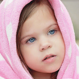 Pink Blanket by Lucia STA - Babies & Children Child Portraits