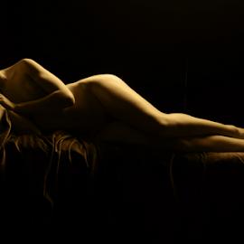 Relaxing by Vineet Johri - Nudes & Boudoir Artistic Nude ( anita de bauch, art nude, vkumar photography, art nude lighting workshops in london, creative nudes )