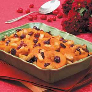 Baked Sweet Potatoes Dried Cranberries Recipes