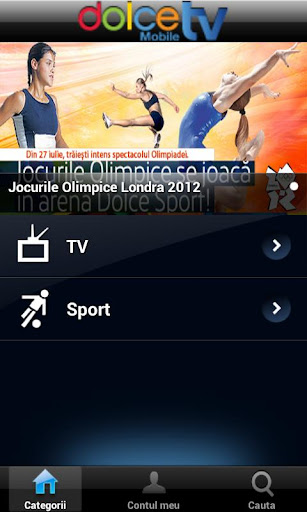 dolce-mobile-tv for android screenshot