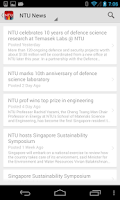 Screenshot of NTU mLearn