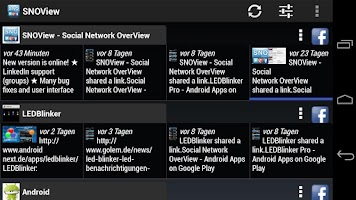 Screenshot of Social Network OverView Lite