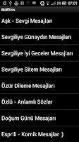 Screenshot of Aktif Sms - Hazir Mesajlar