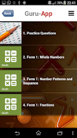 Screenshot of PT3 Mathematics Guru-App PBSMR