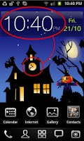 Screenshot of Halloween Moving World Free