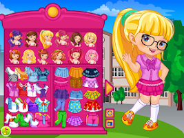 Screenshot of My School Uniform Dress Up