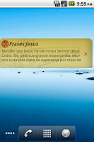 Screenshot of Frases Jesus Cristo