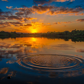 Guladoo Lake Carrigallen by John Greene - Landscapes Sunsets & Sunrises ( lovely leitrim, ireland, guladoo, carrigallen, sunset, scenic )