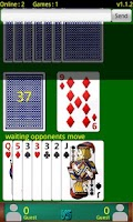Screenshot of Cards Online (Αγωνία, Ξερή)