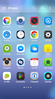 Screenshot of icolor8 GO Launcher Theme