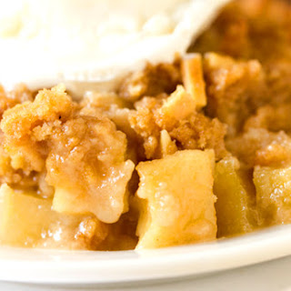 Almond-Apple Crisp