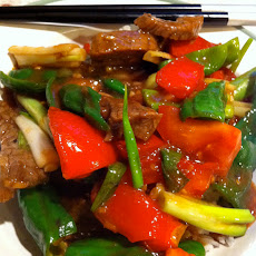 Pepper Beef Steak