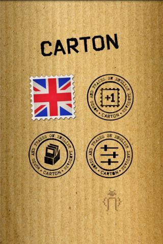 紙箱 - 免費英語