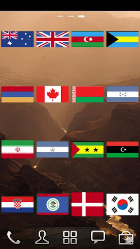 Flags Widget