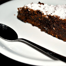 Dark Chocolate and Almond Cake