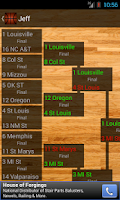 Screenshot of Bracket Tracker