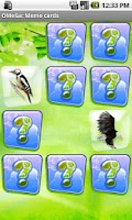 Screenshot of OMeGa: Memo cards