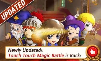 Screenshot of Touch Touch Magic Battle