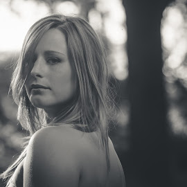 Karisha.. by Raphael Duck - People Portraits of Women ( blonde, black and white, got you all in check, womna, whoohaaa )