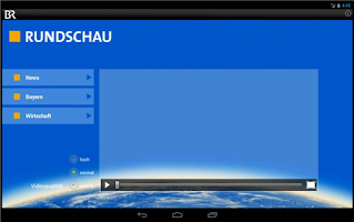 Screenshot of Rundschau