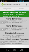 Screenshot of NFe Droid Free