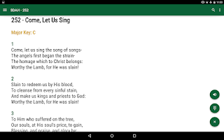 Screenshot of SDA Hymnal