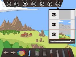 Screenshot of Paperless-Draw, sketch, tablet