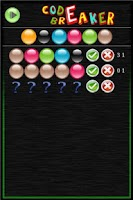 Screenshot of Code Breaker Free