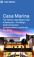 Screenshot of Casa Marina Hotel & Restaurant