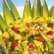 Tropical Mango and Pineapple Paradise Salsa